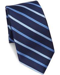 Saks Fifth Avenue - Collection Stripe Silk Tie - Lyst