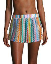 Missoni - Multicolour Swirly Shorts - Lyst
