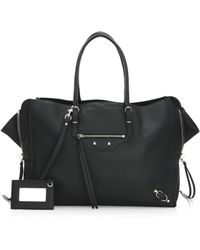 Balenciaga - Papier Zip-around Bag - Lyst