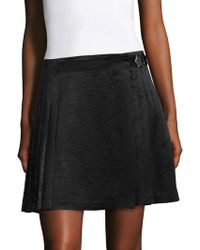 Opening Ceremony - Pleated Mini Skirt - Lyst