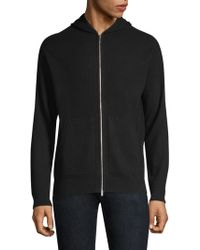 Theory - Alcos Cashmere Hoodie - Lyst