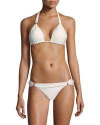 ViX - Bia Halterneck Bikini Tube Top - Lyst