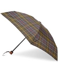 Barbour - Tartan Handbag Umbrella - Lyst