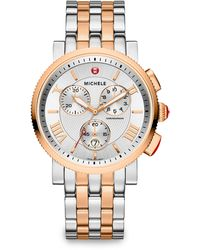Michele Watches - Sports Sail 18K Rose Gold-Plated Watch - Lyst