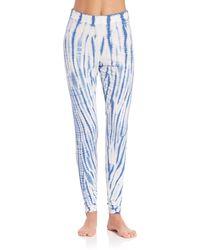 Csbla - Rimini Tie Dye Pima Cotton Blend Leggings - Lyst