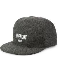 Givenchy - Virgin Wool Blend Baseball Cap - Lyst