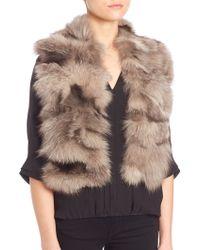 Fox Fur Scarf Pologeorgis uMcWfk