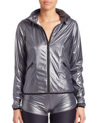Vie Active - Shiny Zipper Jacket - Lyst