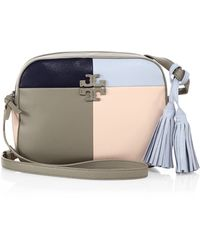 dc3785e3ceee Tory Burch - Thea Patchwork Leather Shoulder Bag - Lyst