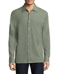 Luciano Barbera - Cotton Casual Button-down Shirt - Lyst