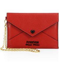 Miu Miu Envelope Clutch