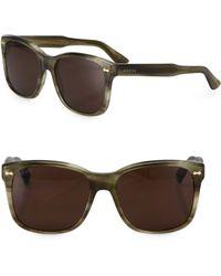 Gucci Oversized Square Sunglasses  gucci oversized square sunglasses in black for men lyst