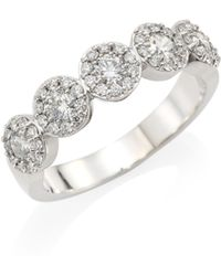 Hearts On Fire | 18k White Gold & Diamond Fulfillment Ring | Lyst