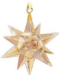 Swarovski - Star Ornament, Golden Shadow - Lyst