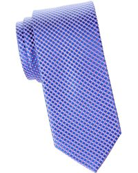 Eton of Sweden - Micro Circle Silk Tie - Lyst