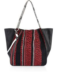 Proenza Schouler - Extra Large Mixed Woven Tote - Lyst