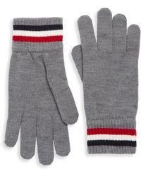 Moncler - Logo Patch Gloves - Lyst