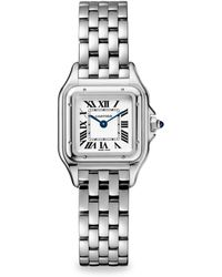 Cartier - Panthère De 27mm Medium Stainless Steel Watch - Lyst