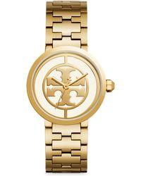 Tory Burch - Reva Stainless Steel Strap Watch - Lyst