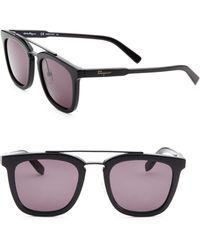 Ferragamo - 52mm Wayfarer Sunglasses - Lyst