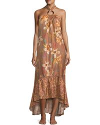 Sinesia Karol - Marla Silk Ruffle Dress - Lyst