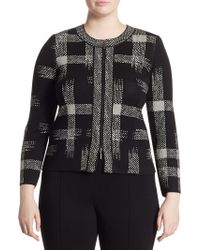 Stizzoli | Printed Front Zip Jacket | Lyst
