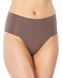 Spanx - Undie-tectable Thong Panty - Lyst