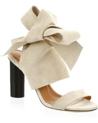 IRO - Ditto Bow Sandals - Lyst