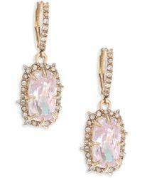 Alexis Bittar - Elements Crystal Drop Earrings - Lyst
