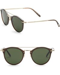 Oliver Peoples - Remick 50mm Panto Sunglasses - Lyst
