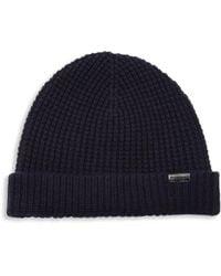 Burberry - Stretchy Wool-blend Cap - Lyst bc23fed4cf4