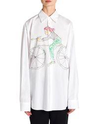 Marni - Cotton Bicycle Shirt - Lyst