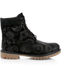 Timberland - Men's Nba East Vs West Leather Boots - Black - Lyst
