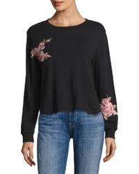 Ella Moss | Roseanna Floral Patch Sweatshirt | Lyst