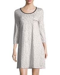 Saks Fifth Avenue - Collection Gnite Cotton Sleep Shirt - Lyst