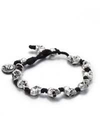 King Baby Studio - Knotted Cord Bracelet - Lyst