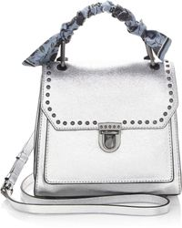 Rebecca Minkoff - St Tropez Small Leather Satchel - Lyst