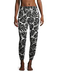 Mikoh Swimwear - Kahuku Cotton Harem Trousers - Lyst