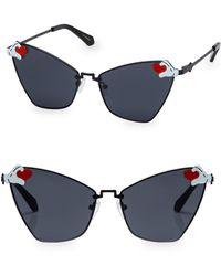 dd2090da5ad7 Karen Walker X Disney Minnie Mouse Bow Heart 63mm Sunglasses in ...