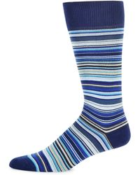 Paul Smith - Multicolor Stripe Mid-calf Socks - Lyst