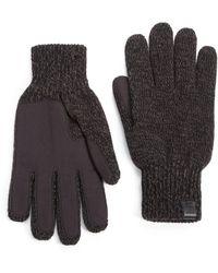 Bickley + Mitchell - Melange Knit Gloves - Lyst