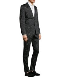 Strellson - Cale Madden Slim-fit Floral Suit - Lyst