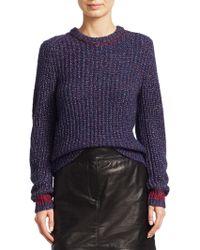 Rag & Bone - Cheryl Rib-knit Sweater - Lyst