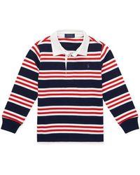 Ralph Lauren - Little Boy's & Boy's Striped Cotton Rugby Shirt - Lyst