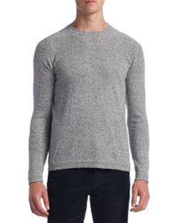 Saks Fifth Avenue - Collection Donegal Crewneck Sweater - Lyst