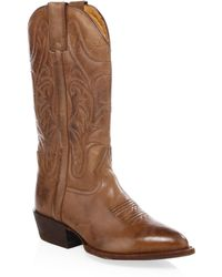 Frye - Bruce Leather Boots - Lyst