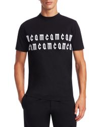 McQ - Cam Cotton Crew Tee - Lyst