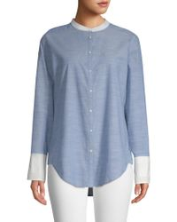 Joie - Betra Chambray Blouse - Lyst