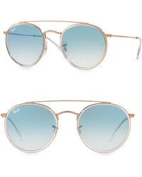Ray-Ban - Iconic Round Aviator Sunglasses - Lyst