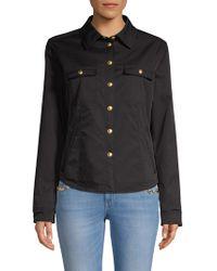 ESCADA - Button Shirt Jacket - Lyst